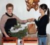 Seimo narės kalėdinė dovana studentei