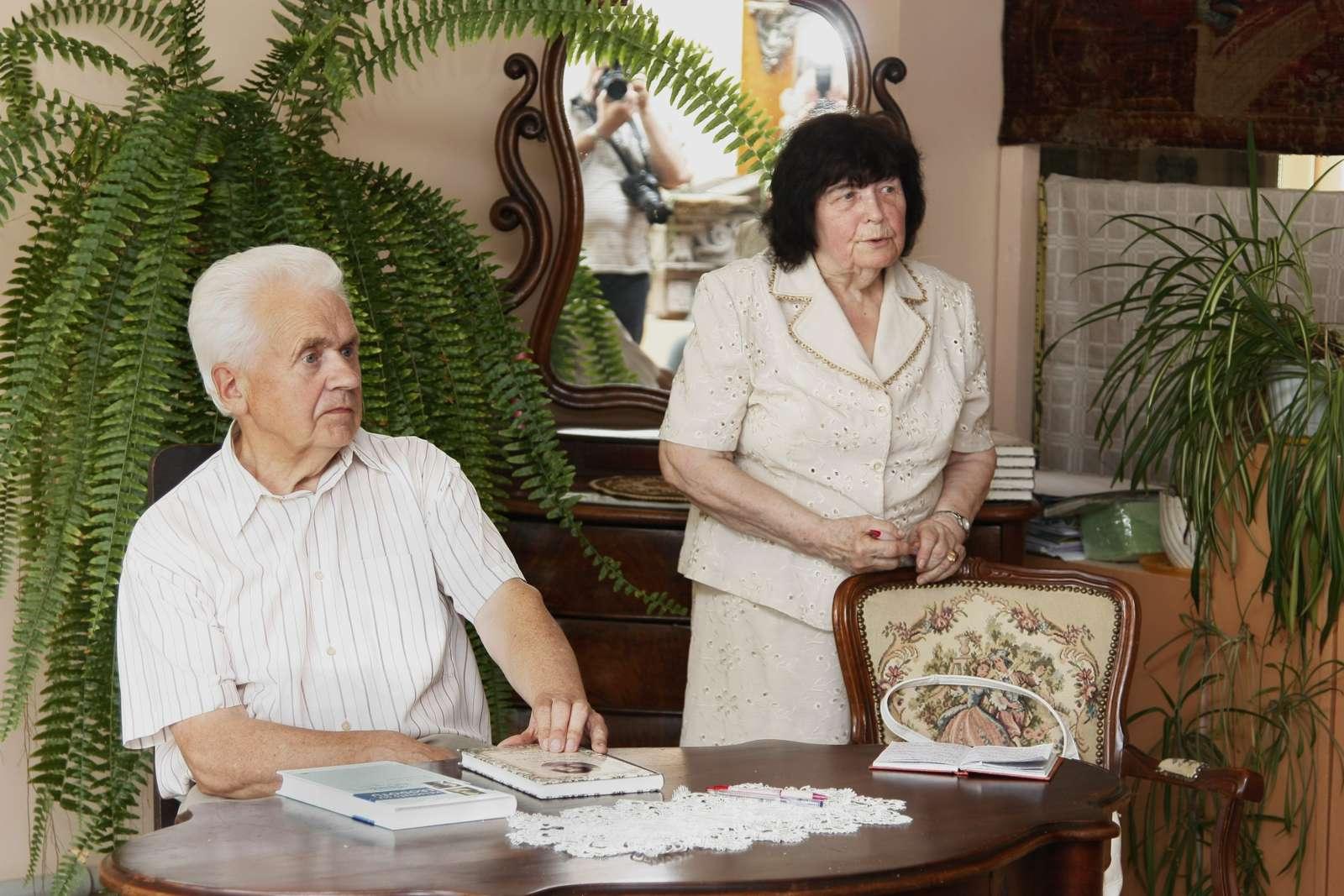 Elena Burdulienė ir Kazys Uscila