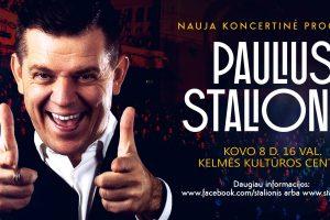 Moters dienos proga – romantiškiausių jausmų kupinas. Pauliaus Stalionio koncertas!